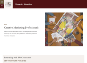 umarketing.txstate.edu