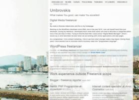 umbrovskis.com