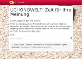 umfrage.uci-kinowelt.de