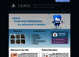 umiyadentalcare.com
