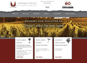 umpquavalleywineries.com