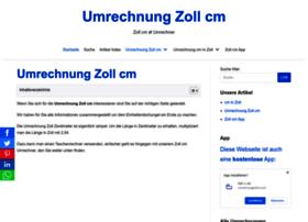 umrechnungzollcm.com
