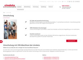 umschulung.cimdata.de