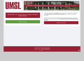 umsl.sona-systems.com