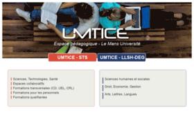 umtice.univ-lemans.fr