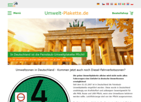 umwelt-plakette.de