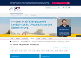 umweltdaten.landsh.de