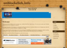 unblockclick.info