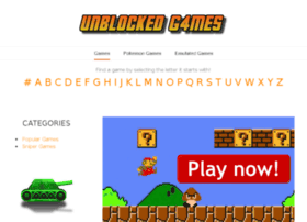 unblocked-g4mes.weebly.com