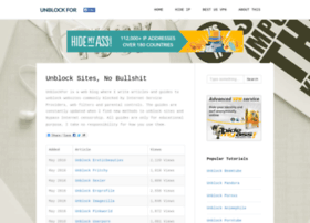 unblockfor.com