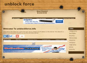 unblockforce.info