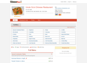 uncleous.chinesemenu.com
