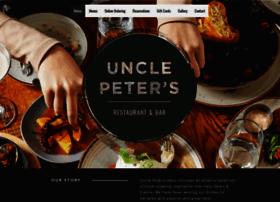 unclepetersrestaurant.com