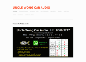 unclewongcaraudio.com