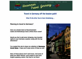 uncommon-travel-germany.com