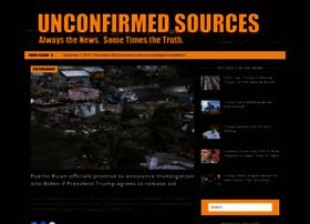 unconfirmedsources.com