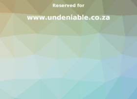 undeniable.co.za