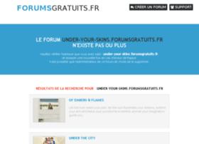 under-your-skins.forumsgratuits.fr