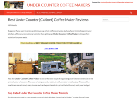 undercountercoffeemakerreviews.com