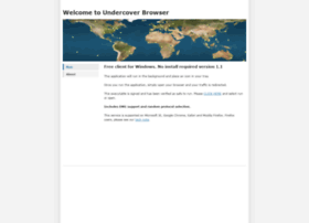 undercoverbrowser.com