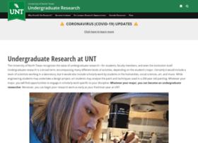 undergradresearch.unt.edu