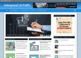 undergroundlistprofits.com