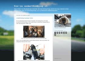 underthinkingit.com