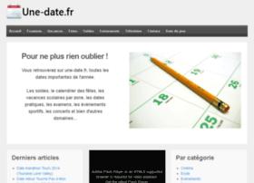 une-date.fr