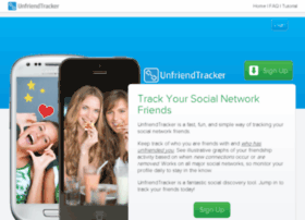 unfriendtracker.com