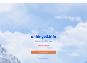 unhinged.info