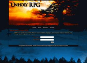 unholyrpg.com