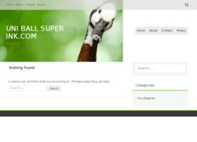 uniballsuperink.com