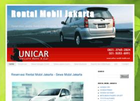 unicar-rental-mobil.com