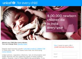 unicef-india.com