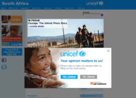 unicef.org.za