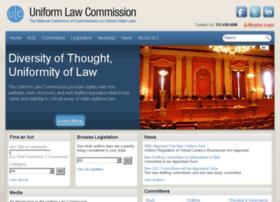uniformlawcommission.com