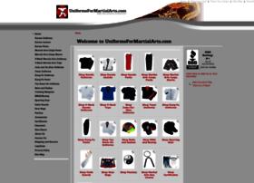 uniformsformartialarts.com