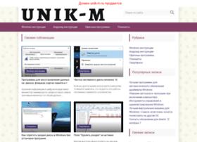 unik-m.ru