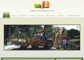 uniondecolonoselcid.com.mx