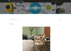 unionmetrics.tumblr.com