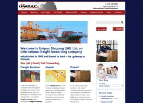 unipacshipping.co.uk