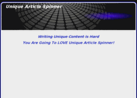 uniquearticlespinner.com