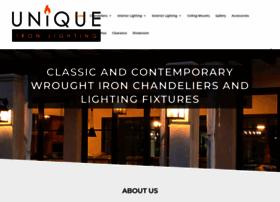 uniqueironlighting.com