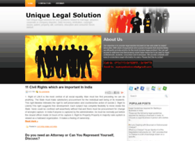 uniquelegalsolution.blogspot.in