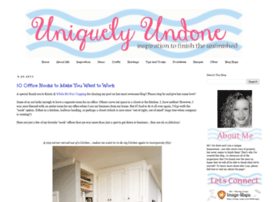uniquelyundone.blogspot.com