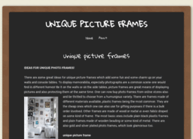 uniquepictureframes.wordpress.com