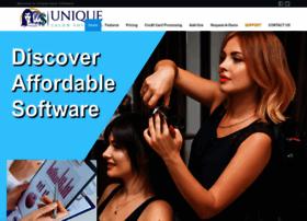 uniquesalonsoftware.com