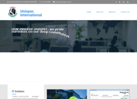 unispecinternational.com