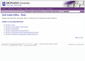 unit-guide-editor.monash.edu.au