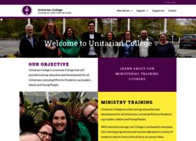 unitarian-college.org.uk